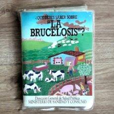 Fotografía antigua: 36 DIAPOSITIVAS EXPLICADAS. LA BRUCELOSIS. 1985. LO QUE DEBES SABER SOBRE LA ENFERMEDAD. 1985. Lote 109077870