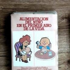 Fotografía antigua: ALIMENTACIÓN 1 AÑO DE VIDA. 47 DIAPOSITIVAS EXPLICADAS.1985. MINISTERIO SANIDAD Y CONSUMO.. Lote 109077926