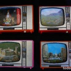 Fotografía antigua: LOTE DE VISORES DIAPOSITIVAS CON FORMA DE TELEVISION, BENIDORM - TENERIFE - MALLORCA - COVADONGA . Lote 113063803