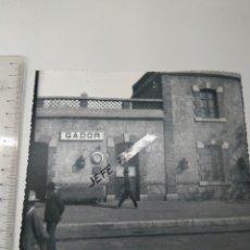 Fotografía antigua: FOTO GADOR ALMERÍA ESTACIÓN RENFE PCPIO DE 1900. Lote 114925988