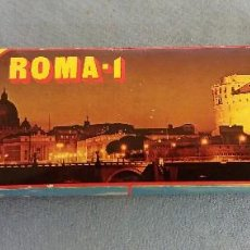 Fotografía antigua: 60 DIAPOSITIVAS DE ROMA SOUVENIR ROMA Nº 1 COLOR SLIDES KODAK FILM MUY BUEN ESTADO ORIGINALES. Lote 117045427