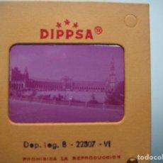 Fotografía antigua: DIAPOSITIVA DE SEVILLA , PLAZA DE ESPAÑA. Lote 119419967