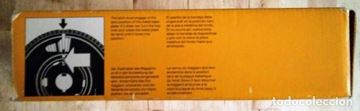Fotografía antigua: KODAK S-AV1000 Carrusel diapositivas carro circular carousel caja original slide tray diamagazin R50 - Foto 4 - 120569795