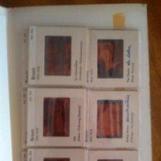 Fotografía antigua: COLECCIÓN 22 PACKS 12 KODAK COLOR SLIDES Y COMENTARIOS DE LAS DIAPOSITIVAS: GENIOS DE LA PINTURA. Lote 121246451