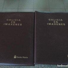 Fotografía antigua: GALICIA EN IMAXENES - ESCOLA ABERTA -- TRES CARPETAS CON DIAPOSITIVAS -- . Lote 122958815