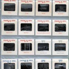 Fotografía antigua: SORIA CONJUNTO DE 20 DIAPOSITIVAS AÑOS 70 PINARES DE SORIA SALDUERO VINUESA COVALEDA PICO DE URBION. Lote 124525019