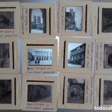 Fotografía antigua: LOTE 12 VISTAS DIAPOSITIVAS, ALCARAZ, ALBACETE, 1962. Lote 125267579