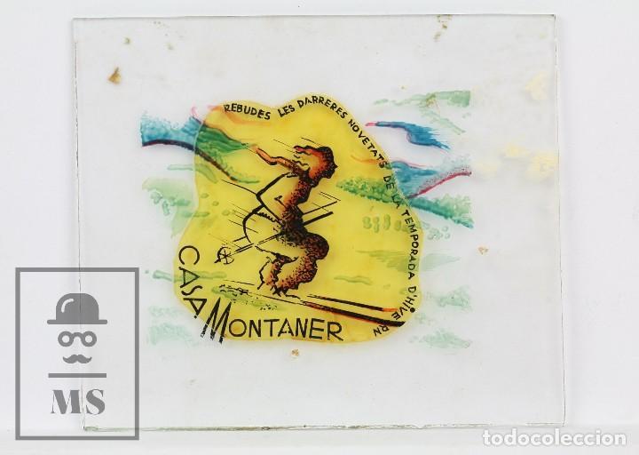 Fotografía antigua: Conjunto de 43 Antiguas Diapositivas / Clichés Vidrio Ilustrados por Arnau - Casa Montaner, Sallent - Foto 9 - 125390099