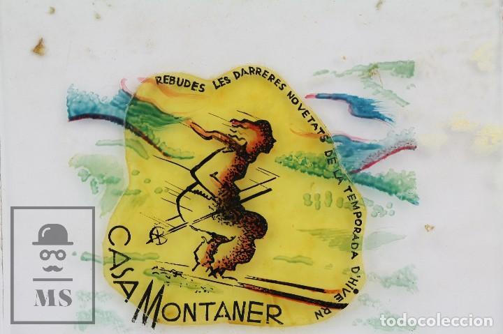 Fotografía antigua: Conjunto de 43 Antiguas Diapositivas / Clichés Vidrio Ilustrados por Arnau - Casa Montaner, Sallent - Foto 10 - 125390099