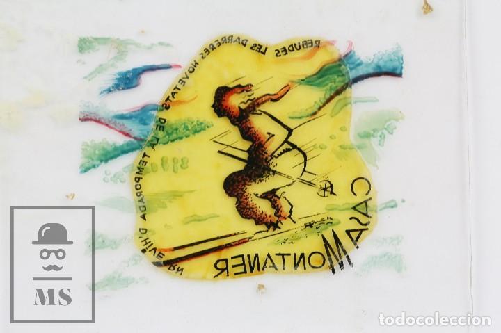 Fotografía antigua: Conjunto de 43 Antiguas Diapositivas / Clichés Vidrio Ilustrados por Arnau - Casa Montaner, Sallent - Foto 11 - 125390099