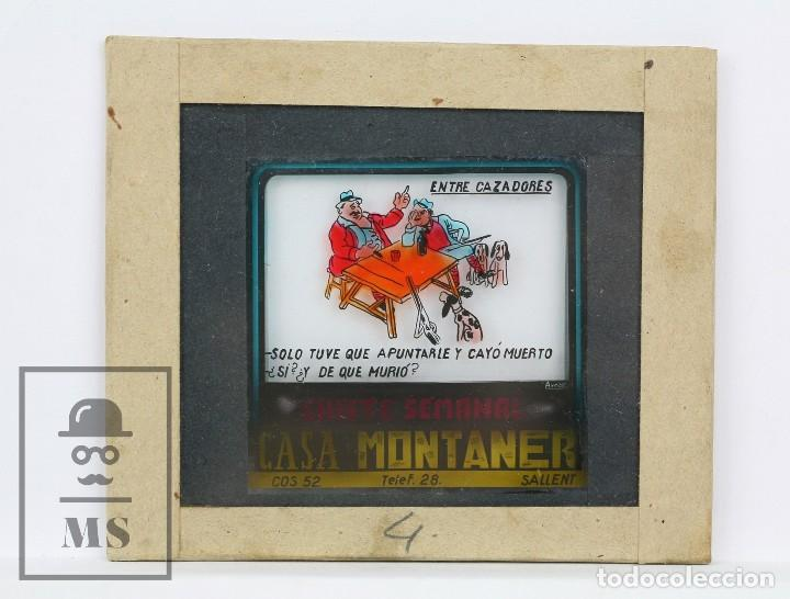 Fotografía antigua: Conjunto de 43 Antiguas Diapositivas / Clichés Vidrio Ilustrados por Arnau - Casa Montaner, Sallent - Foto 12 - 125390099