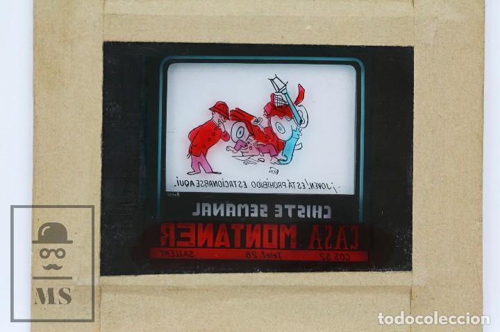 Fotografía antigua: Conjunto de 43 Antiguas Diapositivas / Clichés Vidrio Ilustrados por Arnau - Casa Montaner, Sallent - Foto 20 - 125390099