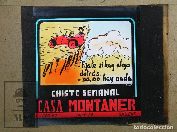 Fotografía antigua: Conjunto de 43 Antiguas Diapositivas / Clichés Vidrio Ilustrados por Arnau - Casa Montaner, Sallent - Foto 22 - 125390099