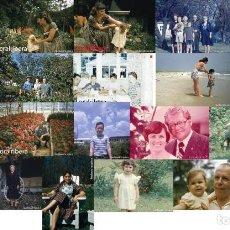 Fotografía antigua: LOTE 43: 21 DIAPOSITIVAS RETRATOS AÑOS 1940S A 1970S USA DIFERENTES MARCAS Y TAMAÑOS. Lote 125948463