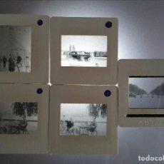 Fotografía antigua: LOTE 5 DIAPOSITIVAS MADRID 1962. Lote 126036127