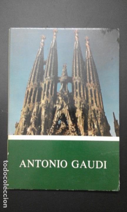 12 DIAPOSITIVAS ** DE ANTONIO GAUDI ** AÑO 1973 - MEC (Fotografía Antigua - Diapositivas)
