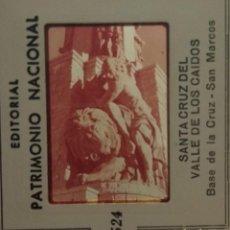 Fotografía antigua: BASE CRUZ VALLE DE LOS CAIDOS PATRIMONIO NACIONAL. Lote 128097195