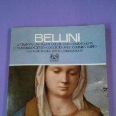 Fotografía antigua: 12 DIAPOSITIVAS BELLINI. Lote 128100675
