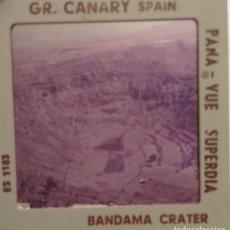 Fotografía antigua: GRAN CANARIA CRATER BANDAMA. Lote 128115603