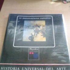 Fotografía antigua: CARPETA CON 24 DIAPOSITIVAS DE HISTORIA UNIVERSAL DEL ARTE MAGISTERIO EL REALISMO SERIE44. Lote 128205683
