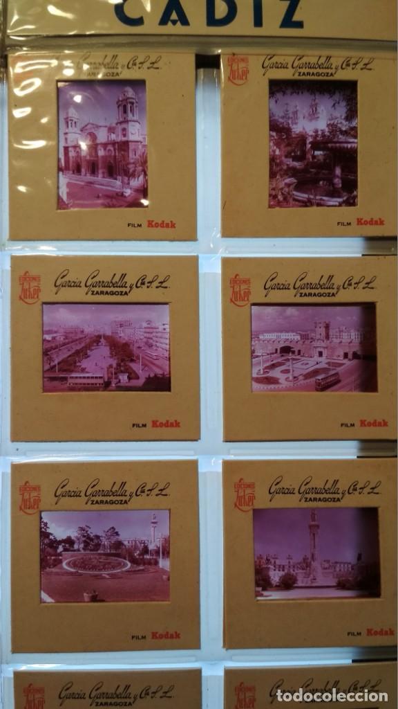 Fotografía antigua: LOTE DE DIAPOSITIVAS TURISTICAS CADIZ HECHAS POR GARCIA GARRABELLA VER FOTOS - Foto 2 - 132528858