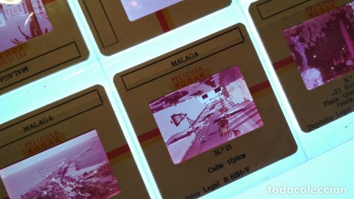 Fotografía antigua: LOTE DE DIAPOSITIVAS TURISTICAS MALAGA VER FOTOS - Foto 3 - 132948158