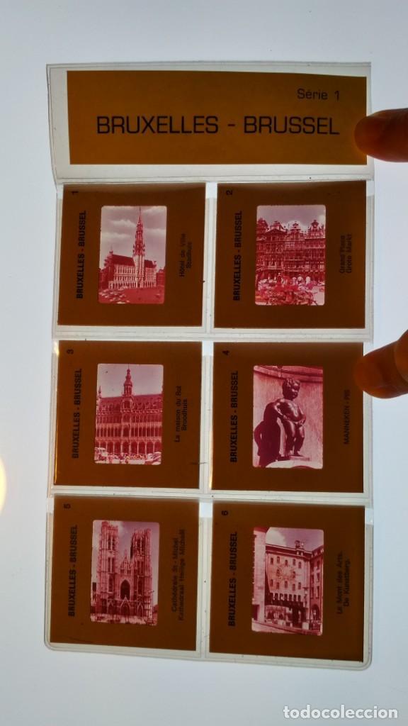 Fotografía antigua: LOTE DE DIAPOSITIVAS TURISTICAS BRUSELAS VER FOTOS - Foto 3 - 132948930