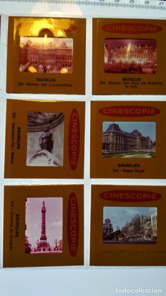 Fotografía antigua: LOTE DE DIAPOSITIVAS TURISTICAS BRUSELAS VER FOTOS - Foto 16 - 132948930