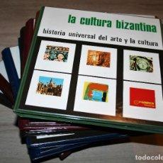 Fotografía antigua: 10 TOMOS DE DIAPOSITIVAS DE HISTORIA UNIVERSAL DEL ARTE Y LA CULTURA - HIARES EDITORIAL. Lote 133025062