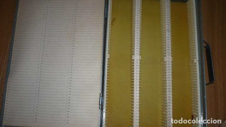 Fotografía antigua: Archivador de diapositivas de metal GAMA años 60 - para 150 diapositivas - Foto 2 - 133098418
