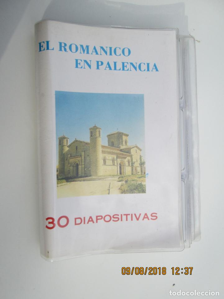 EL ROMANICO EN PALENCIA - 30 DIAPOSITIVAS EXMA. DIPUTACIÓN DE PALENCIA DEPARTAMENTO DE CULTURA 1986. (Fotografía Antigua - Diapositivas)