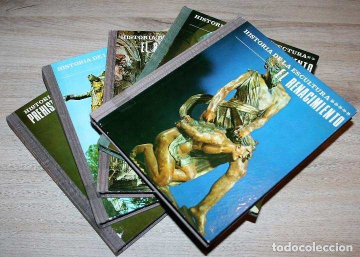 5 TOMOS DIAPOSITIVAS HISTORIA DEL ARTE - EDITORIAL MAGISTERIO ESPAÑOL (Fotografía Antigua - Diapositivas)