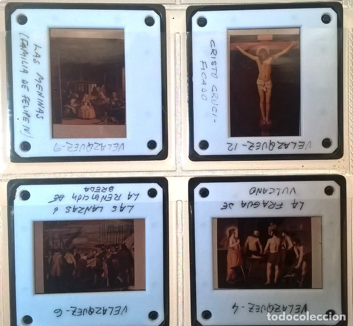 Fotografía antigua: ÁLBUM DE DIAPOSITIVAS PICTÓRICAS DEL SIGLO XVII - Foto 8 - 135508758