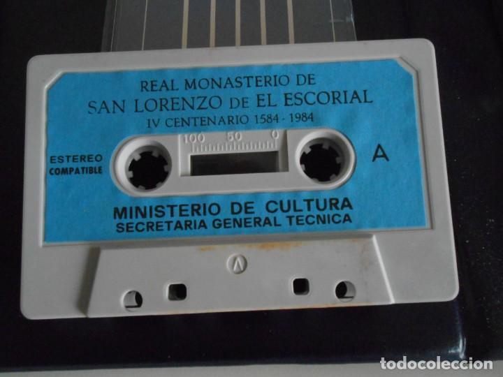 Fotografía antigua: SAN LORENZO DE EL ESCORIAL. MINISTERIO DE CULTURA. 80 DIAPOSITIVAS + CASSETTE + LIBRO. AÑO 1984. - Foto 6 - 149092932