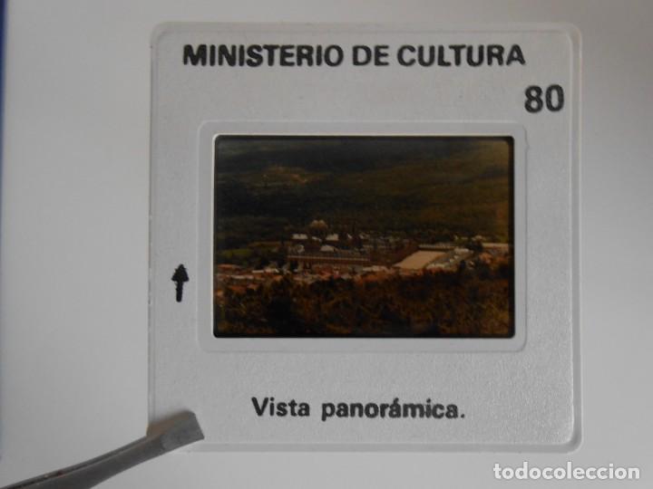 Fotografía antigua: SAN LORENZO DE EL ESCORIAL. MINISTERIO DE CULTURA. 80 DIAPOSITIVAS + CASSETTE + LIBRO. AÑO 1984. - Foto 20 - 149092932