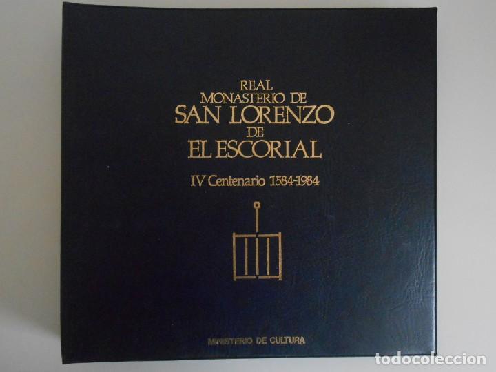 Fotografía antigua: SAN LORENZO DE EL ESCORIAL. MINISTERIO DE CULTURA. 80 DIAPOSITIVAS + CASSETTE + LIBRO. AÑO 1984. - Foto 25 - 149092932