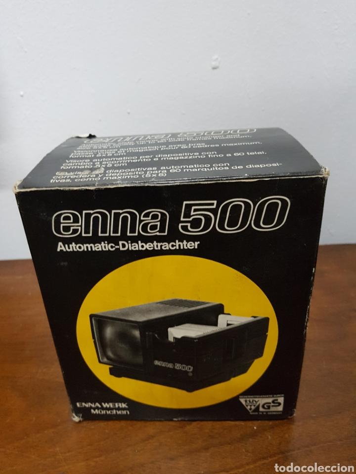 Fotografía antigua: Proyector diapositivas Enna 500 - Foto 6 - 135920685