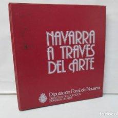 Fotografía antigua: DIAPOSITIVAS. NAVARRA A TRAVES DEL ARTE. DIPUTACION FORAL DE NAVARRA. 1978. VER FOTOS. Lote 136113142