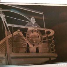 Fotografía antigua: ANTIGUAS FOTOGRAFÍAS NEGATIVOS CELULOIDE BARCO PALMA DE MALLORCA NAVEGACION. Lote 137552218
