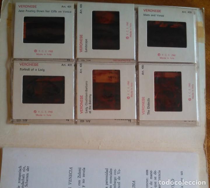 KODAK 12 DIAPOSITIVAS DE ARTE: VERONESE (Fotografía Antigua - Diapositivas)