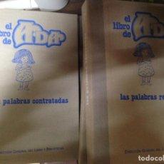 Fotografía antigua: COLECCION COMPLETA 8 VOLUMENES EL LIBRO DE ADA CON DIAPOSITIVAS Y CASETE PARA AUDIO. Lote 142132670