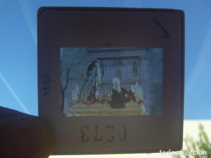 SEMANA SANTA DE SEVILLA : DIAPOSITIVA DE DESCENDIMIENTO (Fotografía Antigua - Diapositivas)