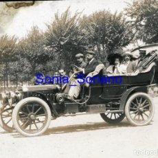 Fotografía antigua: AUTOMOVIL DE POMAR. DIAPOSITIVA - PRINCIPIO DE 1900. Lote 143911058