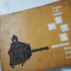 Fotografía antigua: ANTIGUO Y RARO ALBUM DE DIAPOSITIVAS EL PETRÓLEO. Lote 143921976
