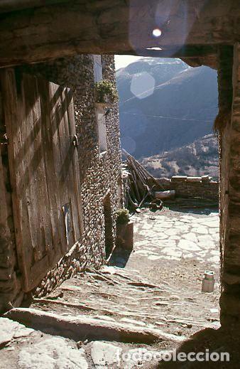 Fotografía antigua: 11 diapositivas 24x36 mm de Llessui y Bernui (Pallars Sobirà, Sort, Vall d'Assua, Lleida, Lérida) - Foto 4 - 144863210