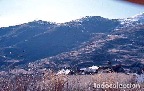 Fotografía antigua: 11 diapositivas 24x36 mm de Llessui y Bernui (Pallars Sobirà, Sort, Vall d'Assua, Lleida, Lérida) - Foto 5 - 144863210