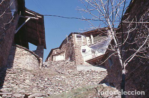 Fotografía antigua: 11 diapositivas 24x36 mm de Llessui y Bernui (Pallars Sobirà, Sort, Vall d'Assua, Lleida, Lérida) - Foto 7 - 144863210
