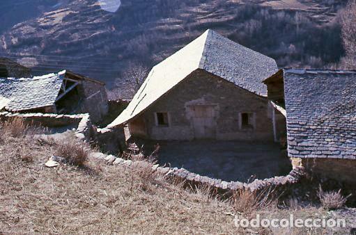 Fotografía antigua: 11 diapositivas 24x36 mm de Llessui y Bernui (Pallars Sobirà, Sort, Vall d'Assua, Lleida, Lérida) - Foto 8 - 144863210
