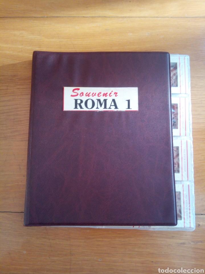 ALMBUM 60 DIAPOSITIVAS ROMA (Fotografía Antigua - Diapositivas)