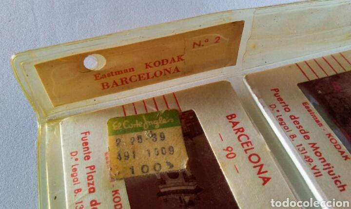 DIAPOSITIVAS BARCELONA KODAK (Fotografía Antigua - Diapositivas)